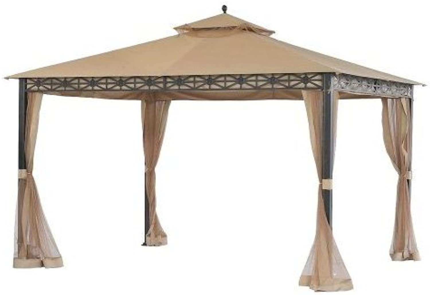 Replacement Canopy and Netting Set for Allogio Gazebo  RipLock 350