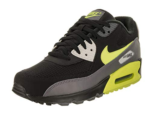 Nike Herren AIR MAX 90 Essential Gymnastikschuhe, Grau (Dark Grey/Volt/Black/Light Bon 015), 44 EU