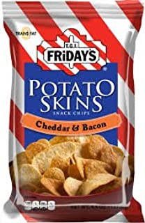 TGI Fridays Cheddar & Bacon Potato Skins 1.75 Oz. (Pack of 55)
