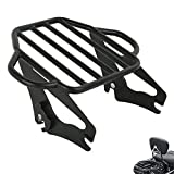 TCMT Detachable Adjustable Two Up Tour Pack Luggage Rack Mounting Fits for Harley Touring Electra Glide Road King Street 2009-2020