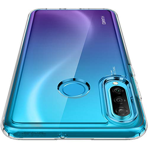 Spigen Cover Huawei P30 Lite Ultra Hybrid Progettato per Huawei P30 Lite/New Edition Cover Custodia - Crystal Clear