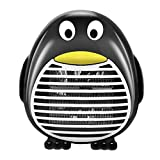 TOSSPER 1pc 500w Mini Calentador Ventilador Eléctrico Portátil De Escritorio De Calefacción Estufa Calentador Calentador De Máquina Herramienta Útil Inicio Jardín