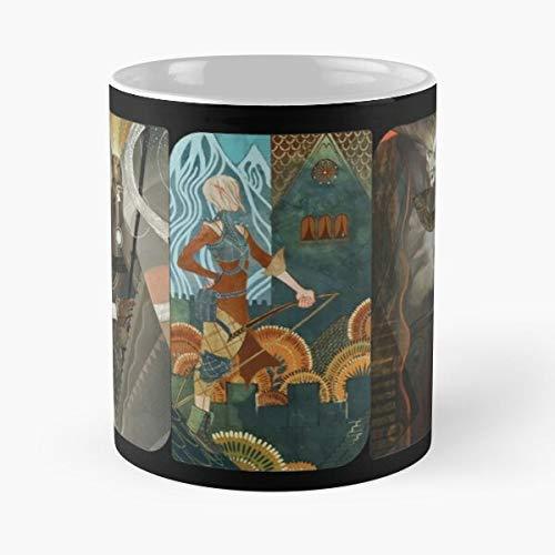 Dragon Age Inquisition Companion Tarot Cards Classic Mug