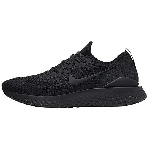 Nike Men's Epic React Flyknit 2 Trail Running Shoes, Black 11, 10 UK