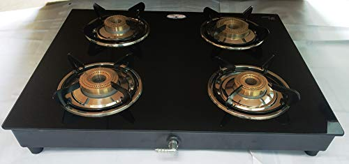 KITCHENMATE SCORPIO PNG GLASS TOP 4 BURNER FOR(USE WITH PNG ONLY)