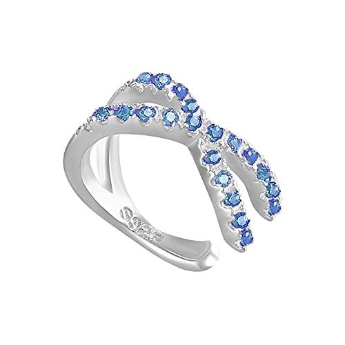 Pendientes Mujer Pendientes De Clip De Cartílago De Oreja No Perforados Minimalistas De Plata Negra Púrpura Azul 925 para Mujer Jewelry Silver 2