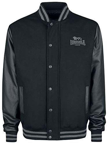 Lonsdale London Herren MILVERTON Men Jacket, Black, XL