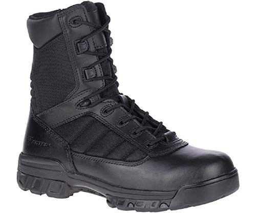 Bates Men's 8' Tactical Sport Side Zip, Black, 10 M US