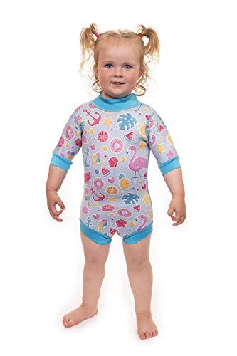 Babatastische baby volledige lichaam neopreen alles in een jongens en meisjes wetsuit zwemkleding voor baby's, peuters en kinderen