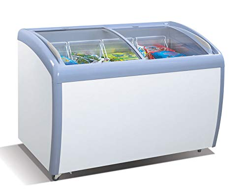 Atosa MMF9112 Angle Curved Top Chest Freezer 12 Cubic Feet