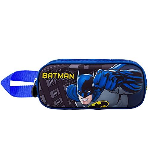 KARACTERMANIA Batman Fist-Trousse 3D Double Gris