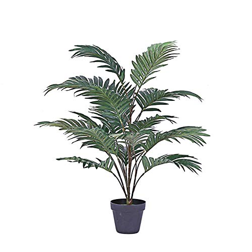 CLEAVE WAVES Plantas Artificiales, Falso Artificial De 70 Cm Tropical Palmera Bonsai Plantas Decorativas, Utilizadas para El Hogar, Oficina, Decoración De Jardín