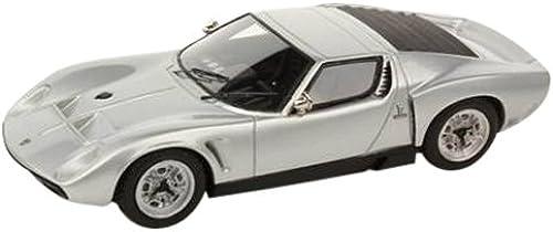 hasta un 70% de descuento LOOKSMART 1 43 Lamborghini Miura Miura Miura P400S-JOTA hard top (plata) (japan import)  envío gratis