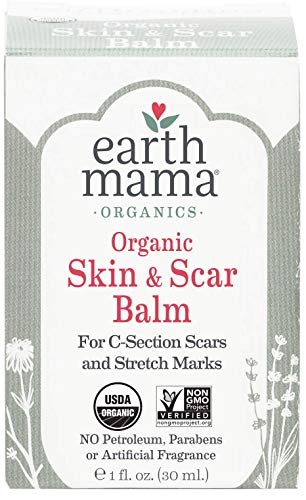 C-Mama Healing Salve with Organic Herbs for C-Section Scars (1 Fl. Oz.)