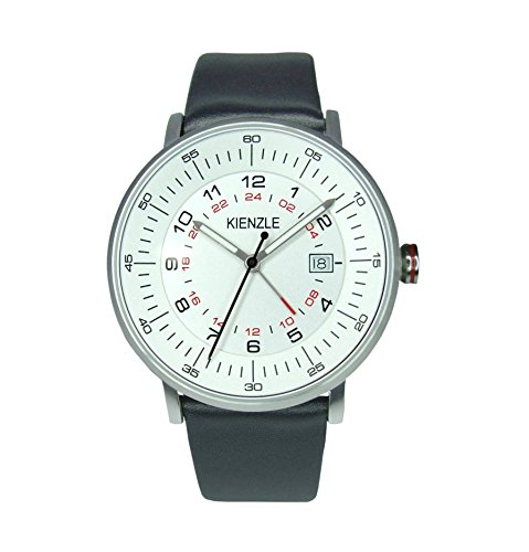 K15-00951 KIENZLE Herren- Armbanduhr mit GMT und Datum