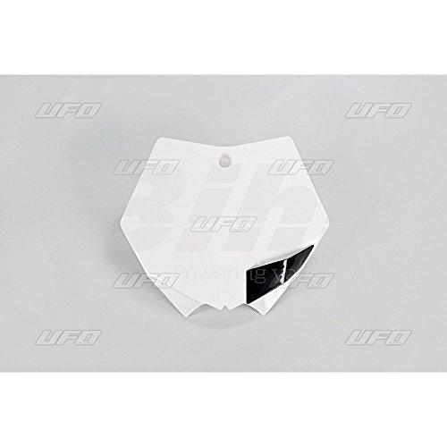 UFO - 41324/54 : Portanúmeros delantero blanco KT03093-047