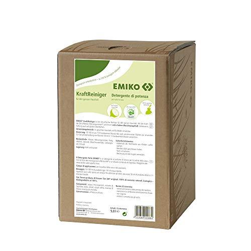 EMIKO KraftReiniger 5 Liter Bag in Box, Mit der Kraft der EM Effektive Mikroorganismen® und einem extra hohen Waschnussgehalt.