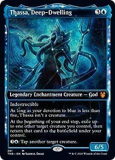 Magic: The Gathering - Thassa, Deep-Dwelling - Showcase - Theros Beyond Death