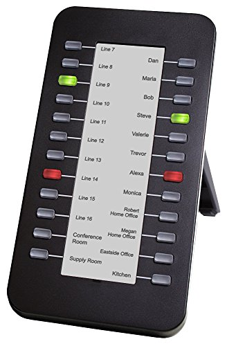 XBlue 24BTNDSS 24 Button Console for X25 and X50 Systems, Connects to X3030 and X4040 IP Phones