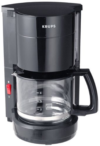 Krups 183-42 ProCafe Coffeemaker, Black, 4-Cup, DISCONTINUED