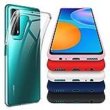 crisnat 6 Pièces Coque pour Huawei P Smart 2021, Un Souple Transparent avec Cinq...