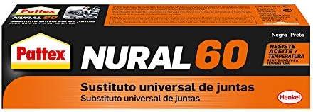 Pattex Nural 60 Sustituto universal de juntas, sellador para automoción e industria, silicona selladora para juntas de...