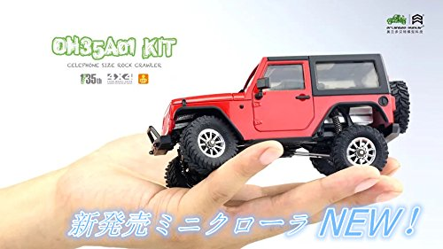 Orlandoo 1/35 EP Scale Crawler Assembly Kit w/ Wrangler Body #OH35A01-KIT