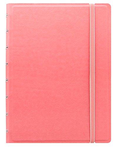Filofax Notizbuch, A5,nachfüllbar, Pastellfarben, Rosa