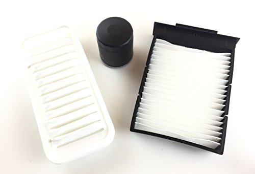 Inspektionsset Ölfilter Luftfilter Pollenfilter C1 107 Aygo - 1.0 50 KW / 68 PS