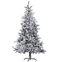 ✅ALBERO DI NATALE DA PARETE ALTO 1,80m: Alto 1,80 metri, questo albero di Natale con foglie effetto innevato conferirà a casa tua l'atmosfera invernale che stai cercando, la decorazione natalizia per eccellenza. ✅FOLTO E REALISTICO: I rami in PVC e P...