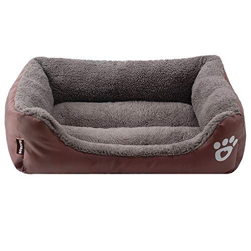 Phonleya Sofá Cama para Mascotas, cálido, Suave, cómodo, Premium, de Tela Oxford de Alta flexibilidad, Impermeable, Cama de Humedad para Perros Grandes y medianos 26,72 X 21,62 X 6,29pulgada