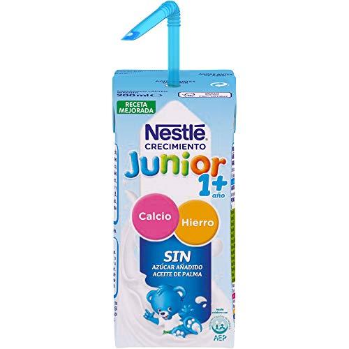 Nestlé Junior 1+ Original - Leche para niños a partir de 1...