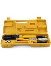 FEMOR Hydraulisk presstång crimptång kabelklämma 10–300 mm² tänger kabelskor tång, 360°, vridbar, 16T