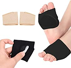 Ball of Foot Cushions-Metatarsal Sleeve Pads Soft and Comfortable Forefoot Metatarsal Pads with Gel Pads Pain Relief Forefoot Pads for Women and Men (XL)