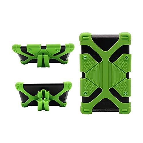 Skhawen For Alcatel One Touch Pixi 3 10 / 1T 10 A3 4G 10 10.1', Caja de la Tableta Resistencia Cubierta Protectora Niños Gota de Silicona Caso Cubierta for Alcatel One Touch Pixi 3 10 (Color : Verde)