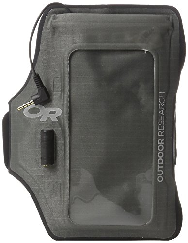 Outdoor Research Sensor Dry Pocket ArmBand, Charcoal, 1Size
