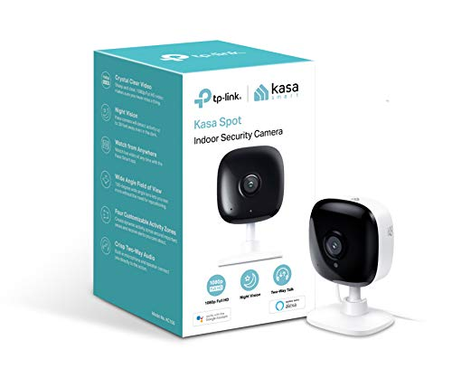TP-Link Kasa Spot Indoor Camera, 1080P HD Smart wifi Security Camera with Night Vision, Motion...