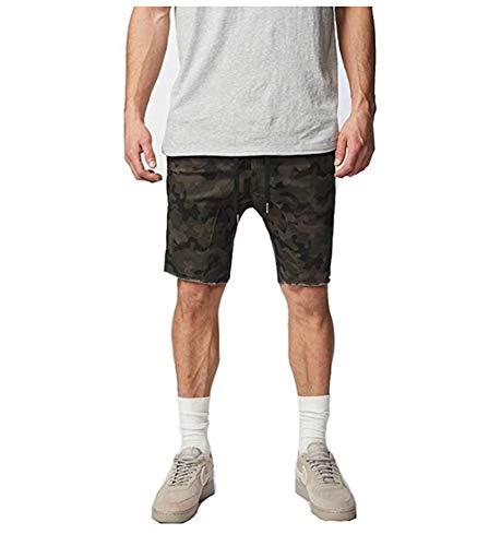 Zanerobe Men's Sureshot Cotton Stretch Everyday Shorts, Dk Camo, 30 Inches