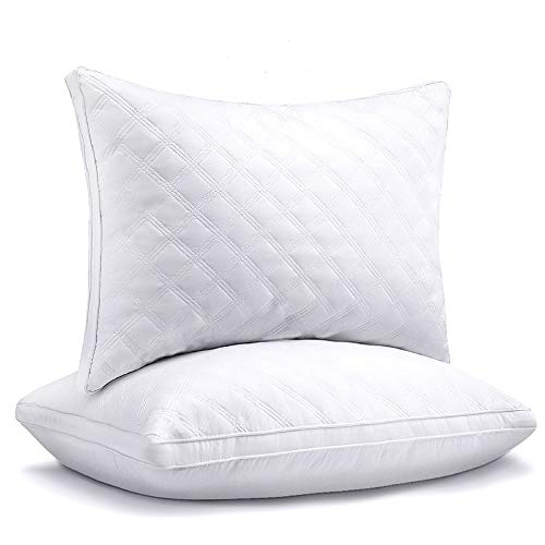 Sable Pillows for Sleeping 2 Pack,Hotel Quality Bed Pillows,Down Alternative Pillows for Side and Back Sleepers,Soft and Supportive Pillows Queen Size
