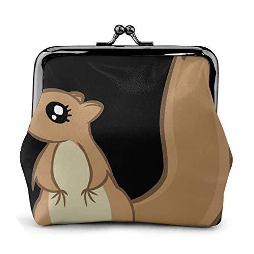 Écureuil de dessin animé élégant et pratique, cadeau pour femme.