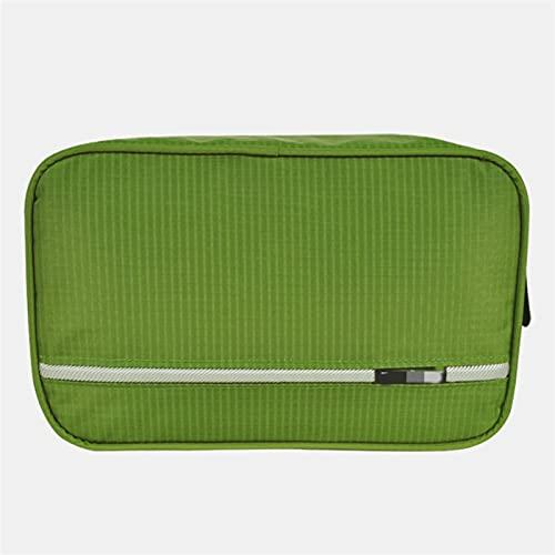 JSBAN Bolsa de Aseo para Colgar Trajes de Viaje Lavado Lavado Organizador Kit para Hombres Mujeres Cosméticos Maquillaje Robado Colgante Bolsos de Ducha (Color : Military Green)