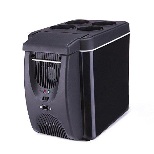 MTTLS Frigorifero portatile6L auto Frigorifero dispositivo di raffreddamento mini frigorifero portatile congelatore automobile calda e fredda 12V