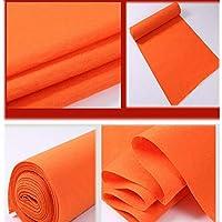 JINRONG レッドカーペットフロアランナー 廊下 階段 パーティー 結婚式の装飾に 吸水性 滑り止め カスタマイズ可能 1.2*30m オレンジ thfgy8