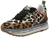 LIU JO Shoes Maxi Alexa-Running, Zapatillas para Mujer, Multicolor (Leopard S19c1), 35 EU