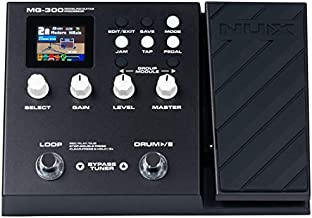 NUX MG-300 Multi Effects Pedal TSAC-HD Pre-Effects,Amp Modeling algorithm,CORE-IMAGE Post-Effects,IR,56 drum beats,60 seconds Phrase Loop