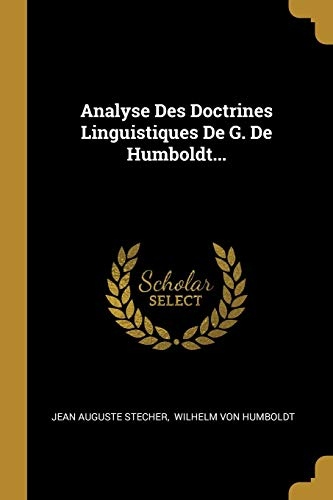 FRE-ANALYSE DES DOCTRINES LING