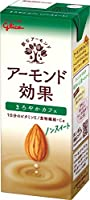 グリコ乳業 アーモンド効果 まろやかカフェ 200ml紙パック×24本入×(2ケース)