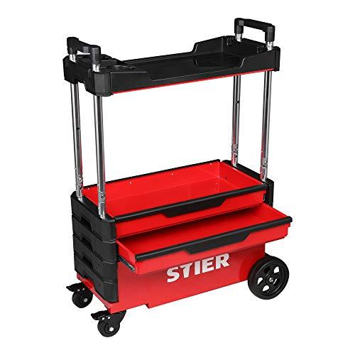 STIER Montagewagen, klappbar, 80kg...