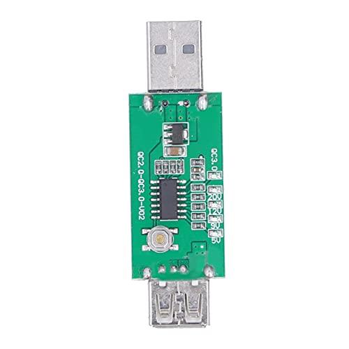 Eujgoov Quick Charging 3.0 Adapter Test Board, 5-20V Schnellladetester für Ladegerät und Mobile Stromversorgung