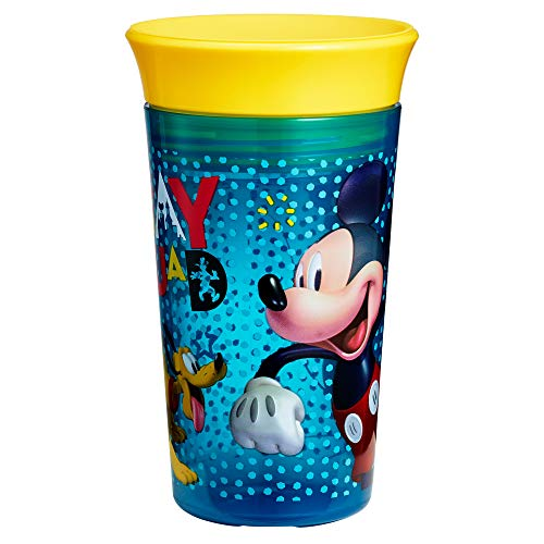 The First Years Disney Simply Spoutless Cup, Mickey Mouse, 9 Ounce